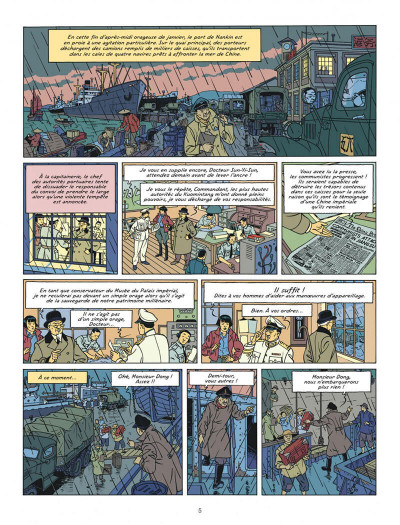 Page 5 Blake et Mortimer tome 25 (édition bibliophile)