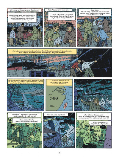Page 6 Blake et Mortimer tome 25 (édition bibliophile)