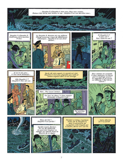 Page 7 Blake et Mortimer tome 25 (édition bibliophile)