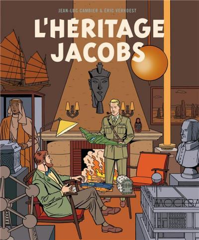 Couverture L'héritage Jacobs (édition augmentée)