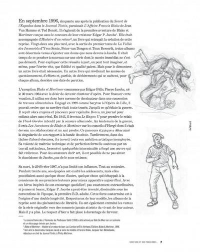 Page 7 L'héritage Jacobs (édition augmentée)