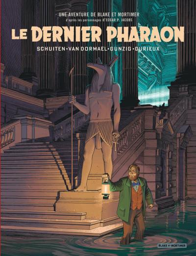 Couverture Blake et Mortimer - Le dernier pharaon + ex-libris offert