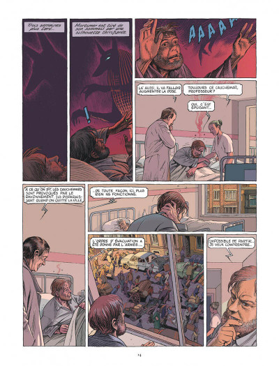 Page 4 Blake et Mortimer - Le dernier pharaon
