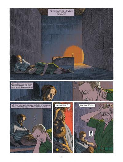 Page 7 Blake et Mortimer - Le dernier pharaon