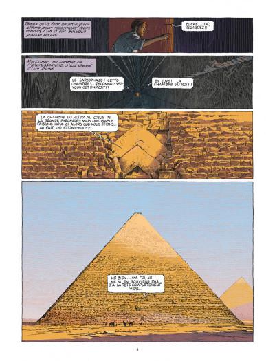 Page 8 Blake et Mortimer - Le dernier pharaon