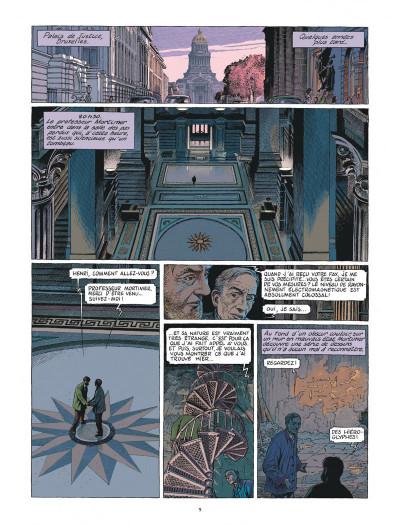 Page 9 Blake et Mortimer - Le dernier pharaon