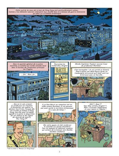 Page 3 Blake et Mortimer tome 26