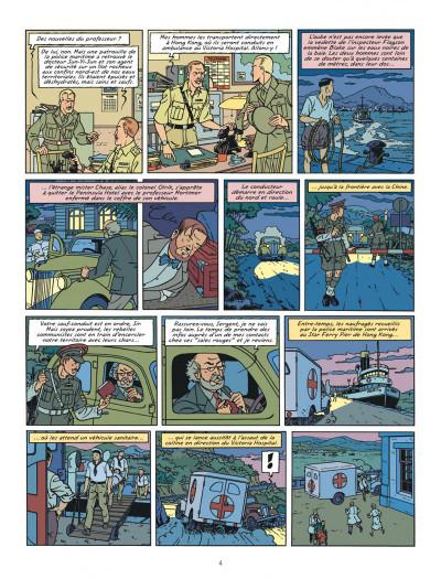 Page 4 Blake et Mortimer tome 26