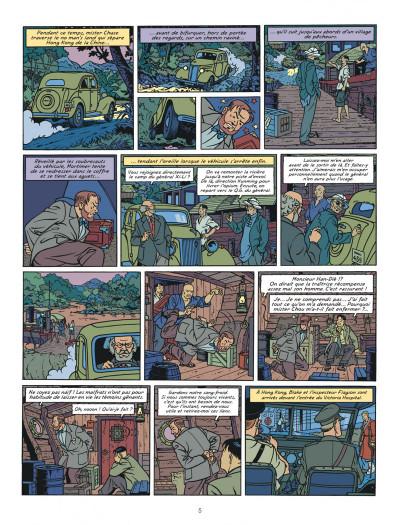 Page 5 Blake et Mortimer tome 26