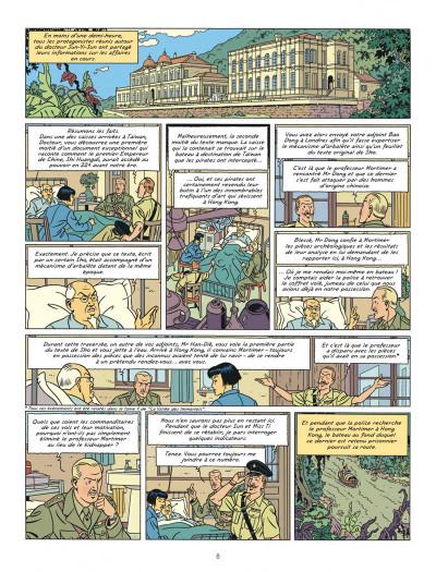 Page 8 Blake et Mortimer tome 26