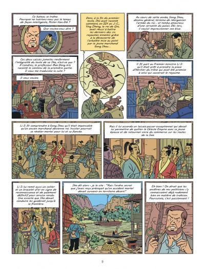 Page 9 Blake et Mortimer tome 26
