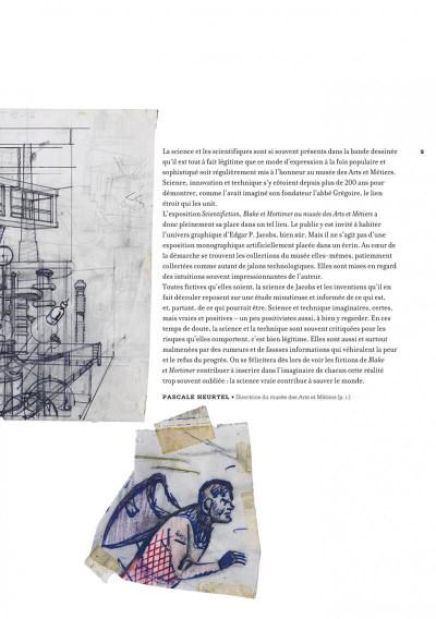 Page 5 Scientifiction - Blake et Mortimer - Au musée des arts et métiers