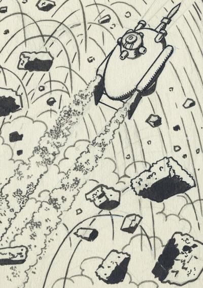 Page 6 Scientifiction - Blake et Mortimer - Au musée des arts et métiers