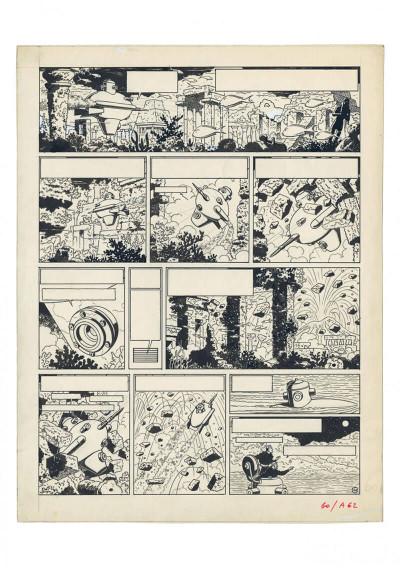 Page 8 Scientifiction - Blake et Mortimer - Au musée des arts et métiers
