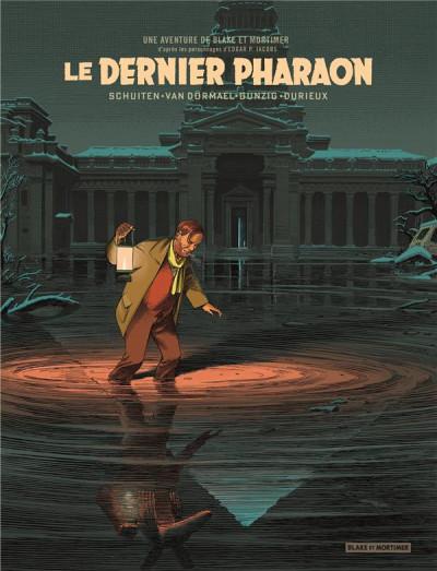 Couverture Blake et Mortimer - Le dernier pharaon (version bibliophile)