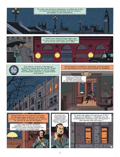 Page 3 Blake et Mortimer tome 27