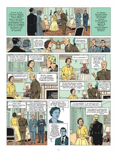 Page 4 Blake et Mortimer tome 27