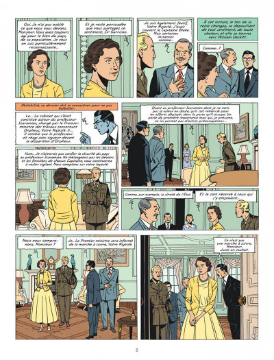 Page 5 Blake et Mortimer tome 27