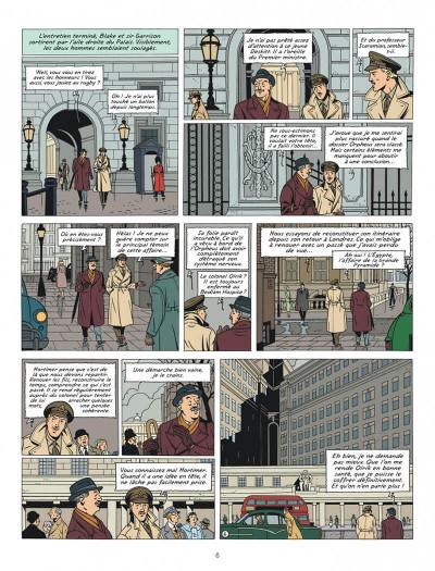 Page 6 Blake et Mortimer tome 27