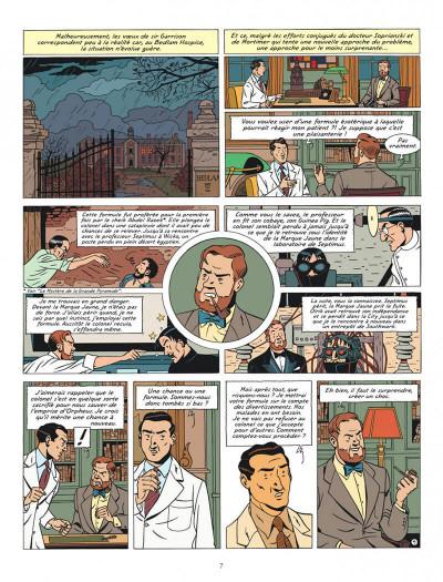 Page 7 Blake et Mortimer tome 27