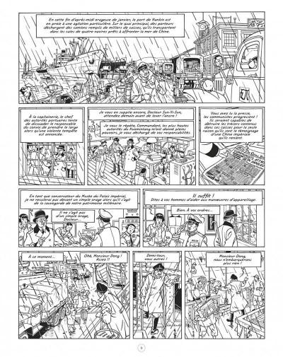 Page 9 Blake et Mortimer - édition luxe intégrale - La vallée des immortels