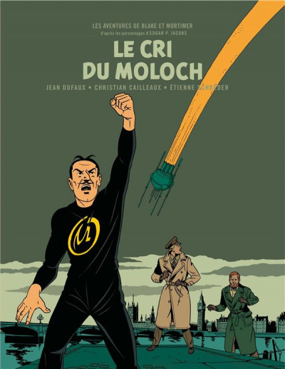 Couverture Blake et Mortimer - version bibliophile tome 27