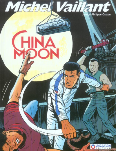 Couverture michel vaillant tome 68 - china moon