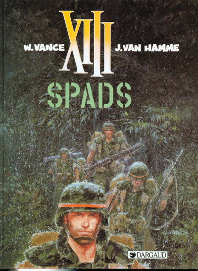 Couverture xiii tome 4 - spads