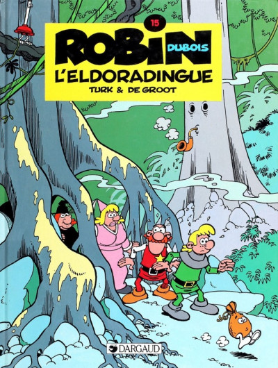 Couverture Robin Dubois tome 15