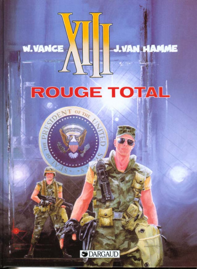 Couverture xiii tome 5 - rouge total