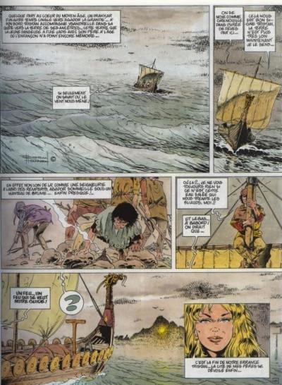 Dos Tristan le ménestrel tome 3 - l'appel des druides