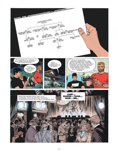 Page 5 xiii tome 11 - trois montres d'argent