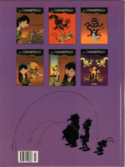 Dos Les innommables tome 3 - au lotus pourpre