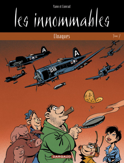 Couverture les innommables tome 6 - cloaques