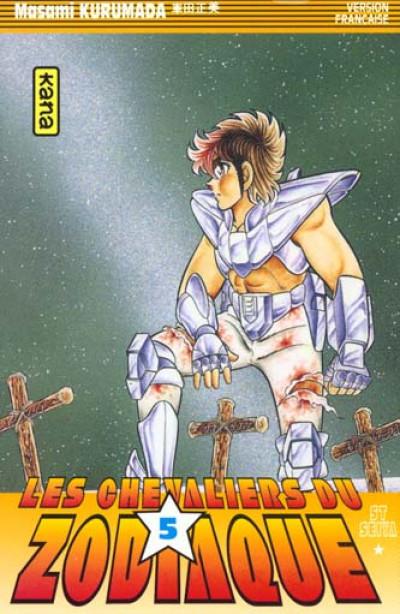 Couverture les chevaliers du zodiaque tome 5