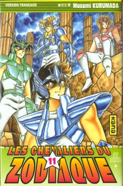 Couverture les chevaliers du zodiaque tome 11