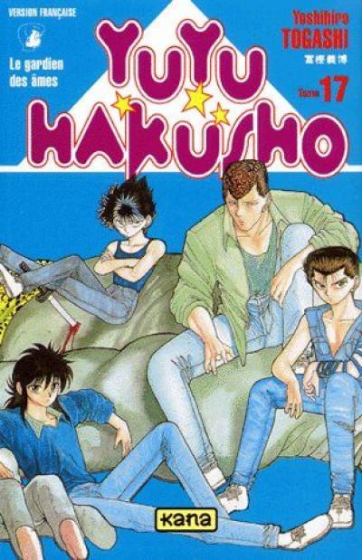 Couverture yuyu hakusho tome 17