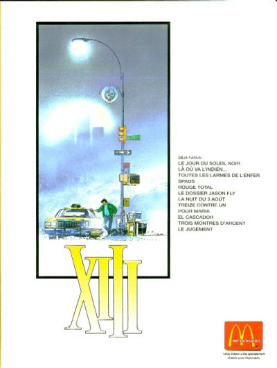Dos XIII tome 1 - Le Jour du soleil noir (éd. 1999)