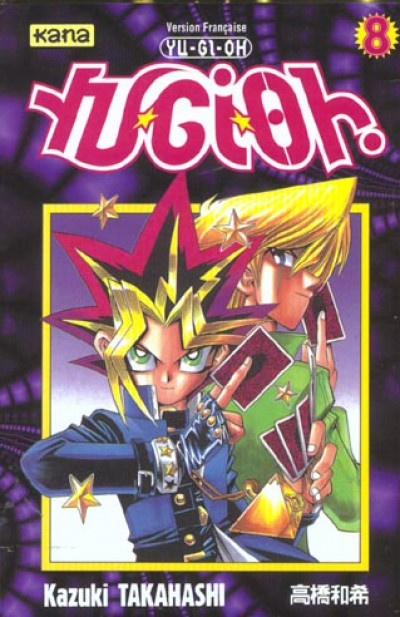 Couverture yu-gi-oh tome 8