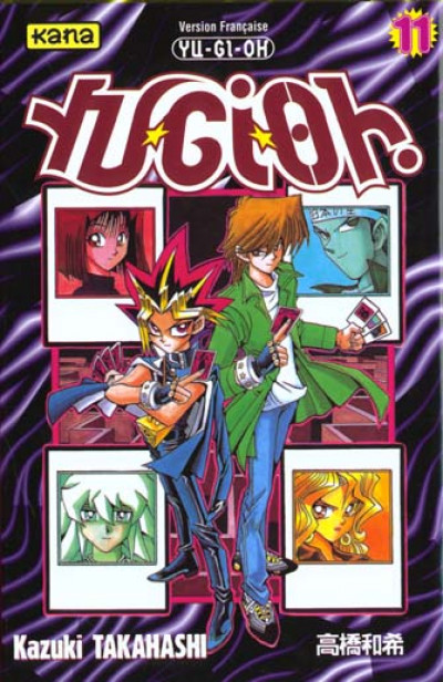 Couverture yu-gi-oh tome 11