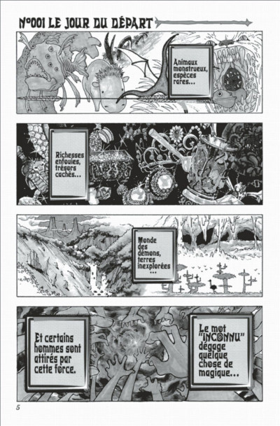Page 5 hunter x hunter tome 1