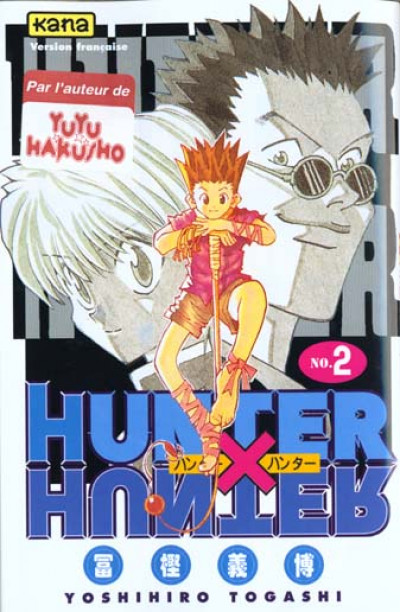 Couverture hunter x hunter tome 2
