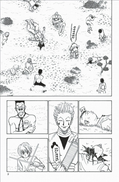 Page 9 hunter x hunter tome 2