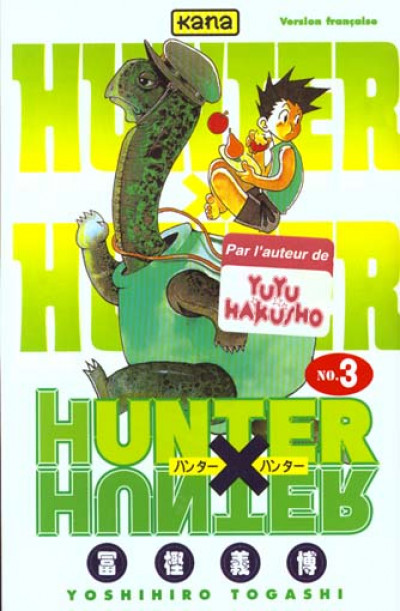 Couverture hunter x hunter tome 3
