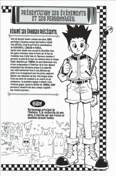 Page 4 hunter x hunter tome 3