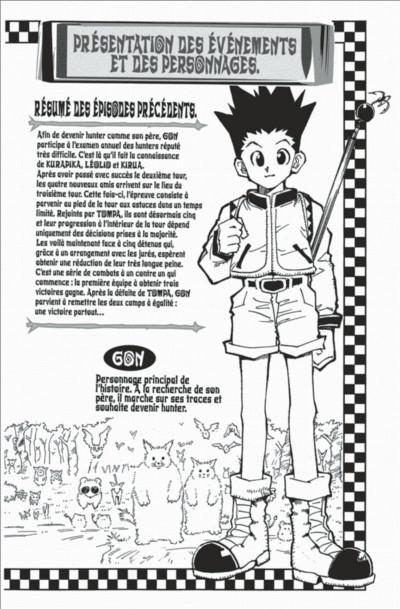 Page 4 hunter x hunter tome 3