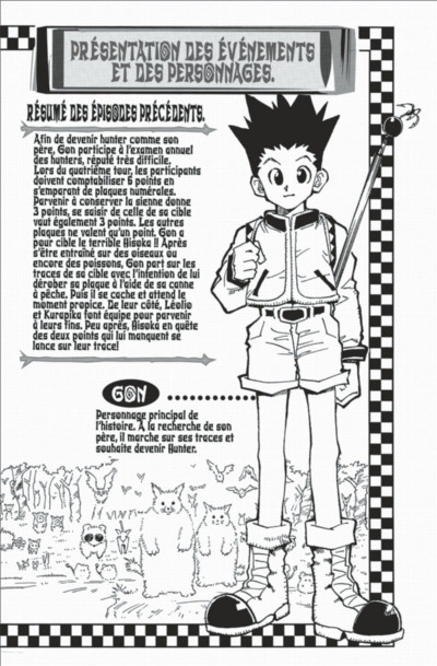 Page 4 hunter x hunter tome 4