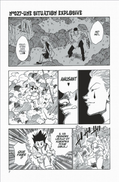 Page 7 hunter x hunter tome 4