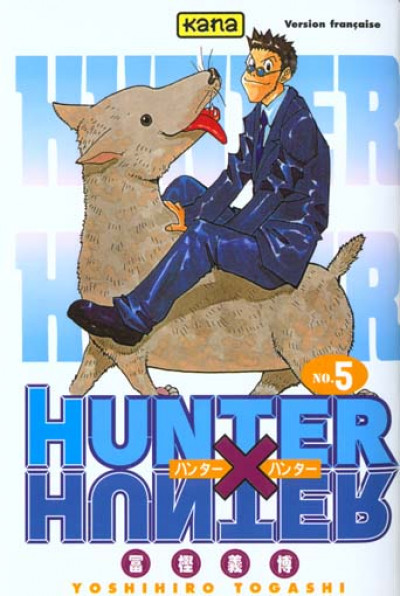 Couverture hunter x hunter tome 5