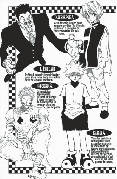 Page 5 hunter x hunter tome 5